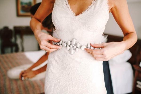 cinturon fantasia para novia