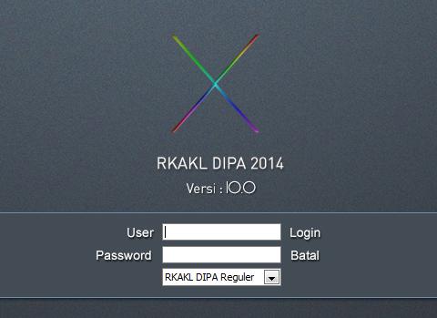 RKAKL DIPA 2014