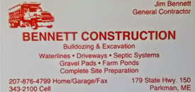 Bennett Construction (Parkman)