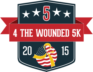 SUPPORT WOUNDED WARRIORS!  RUN/DONATE TO 4 THE WOUNDED 5K
