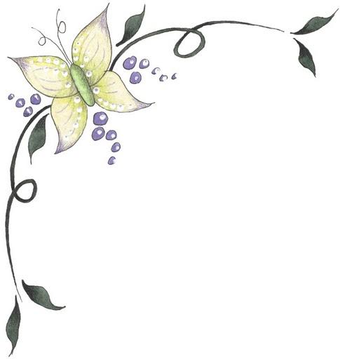 Bordes para decorar hojas blancas - Imagui