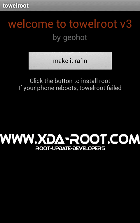 ROOT SAMSUNG GALAXY S5 CRICKET SM G900A