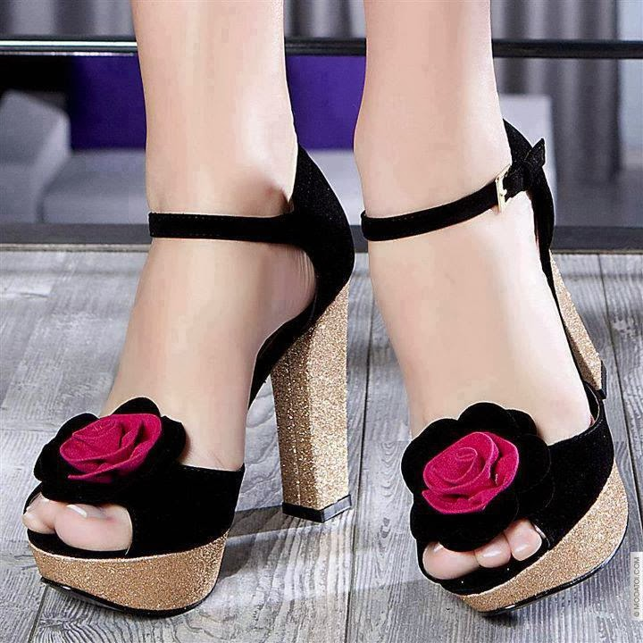 Impresionantes zapatos elegantes