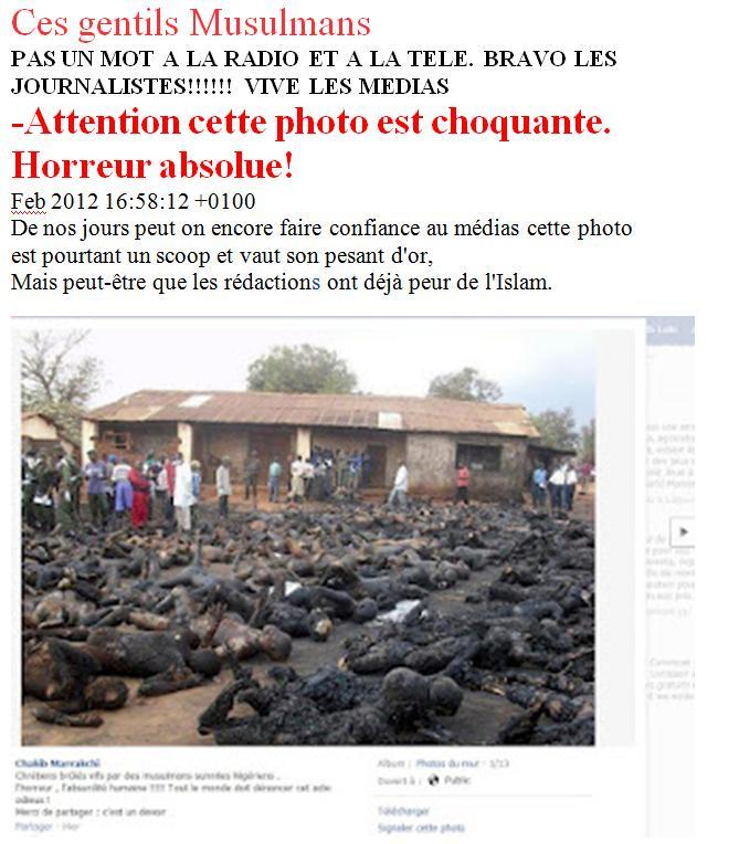 Queman Cristianos en Nigeria 2012 el 10 de Febrero de 2012