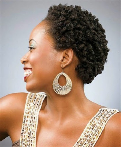 short afro-textured hairstyles for women trends 2015