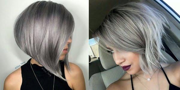 Stunning Silver Bob Haircuts! - OMG Love Beauty!