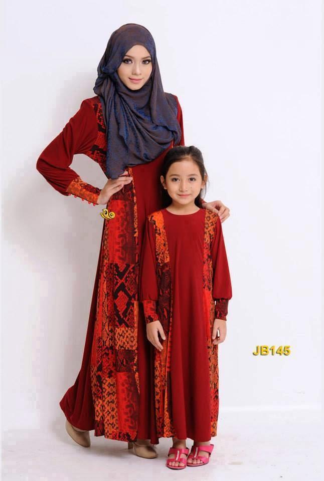 Baju Jubah Ibu Dan Anak Baju Raya Anak Perempuan