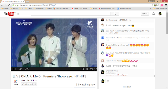 INFINITE MelOn Premiere Showcase
