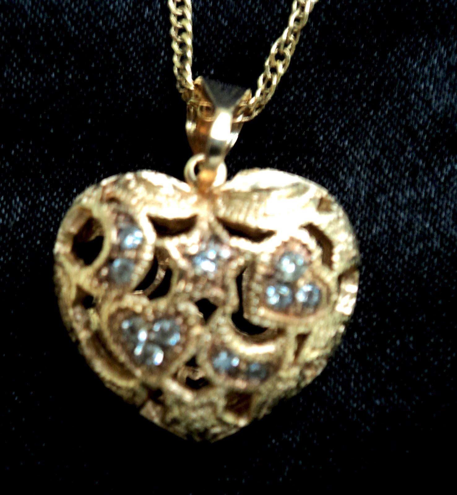 Colar Coração Dourado