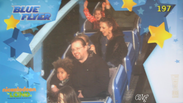 Pure joy or pure terror on the Blue Flyer at Blackpool's Pleasure Beach in Nickelodeon Land | Anyonita-Nibbles.co.uk