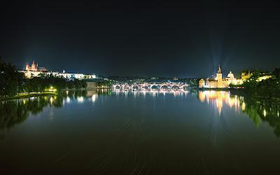 Prague At Night - Prague,Czech Republic