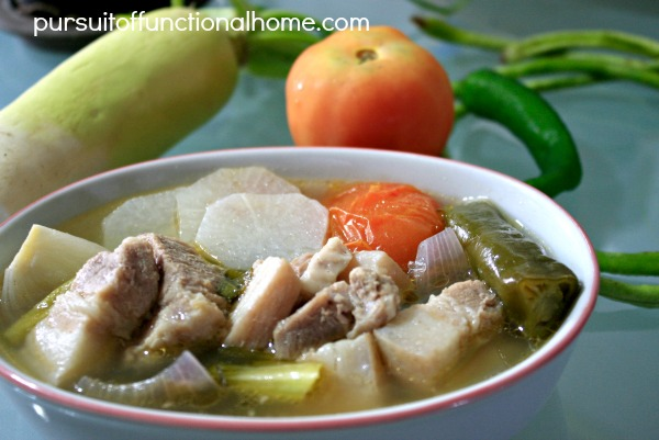 Pork Sinigang with Sinigang Mix , how to make pork sinigang, filipino recipe, pork sinigang recipe