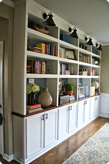 And Of Course She Details Step By Some Awesome Tips For Styling A Build In Bookcase Amazing Im Sure You Are Catching My Drift On How Great Is