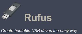 Rufus Bootable Maker