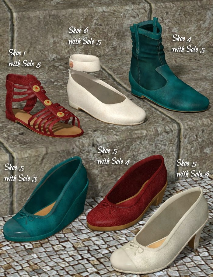 Patchwork Chaussures 5