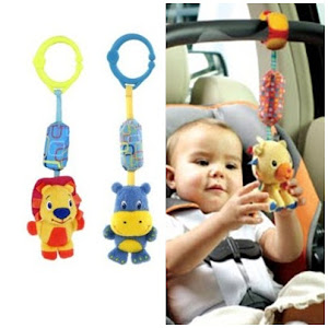 GRAB ME :) Bright Starts Chime Along Friends(Hippo/Lion) RM39.90 each