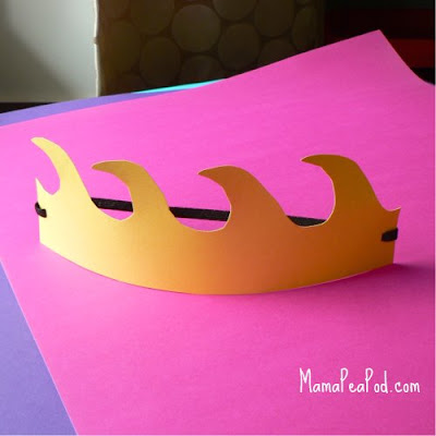mermaid birthday party wave crowns