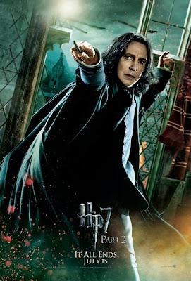 Harry Potter y las reliquias de la muerte. Parte 2. Poster Snape