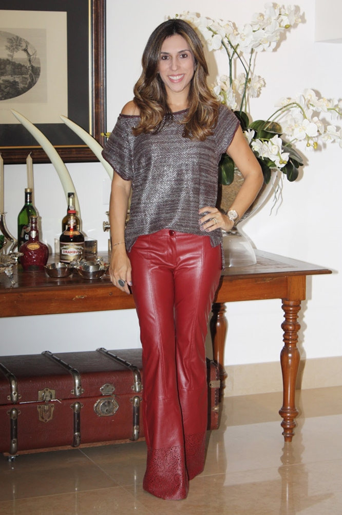 Mature Women In Leather Pants
