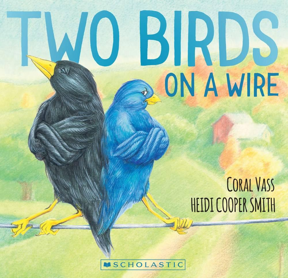 Dim\'s Write Stuff: Two Birds on a Wire - Balancing with Heidi Cooper ...