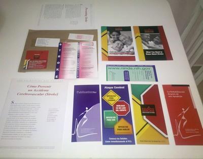 Recebido Gratis vários Livros e Folhetos sobre AVC Acidente Vascular Cerebral