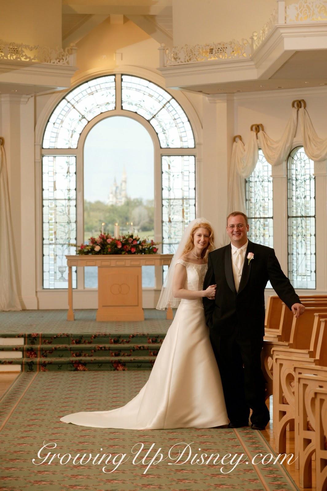 Disney Wedding Pavilion Cinderella Castle In Photo