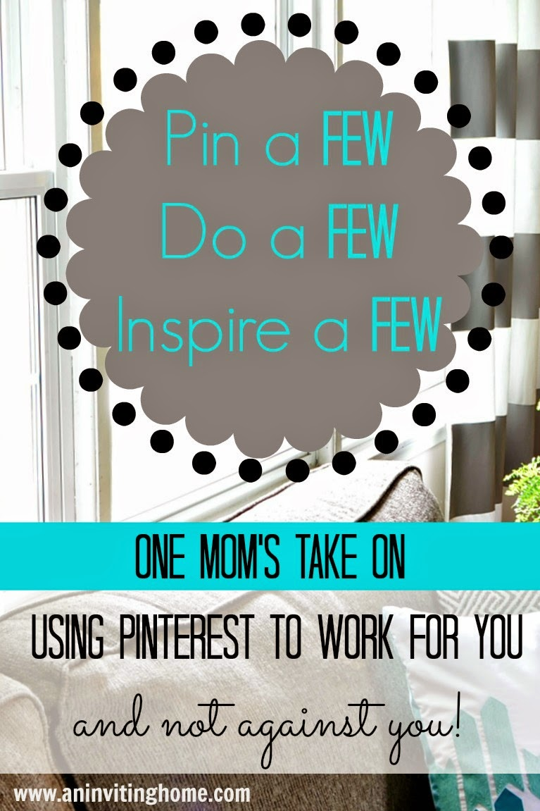 using pinterest for you and not against you