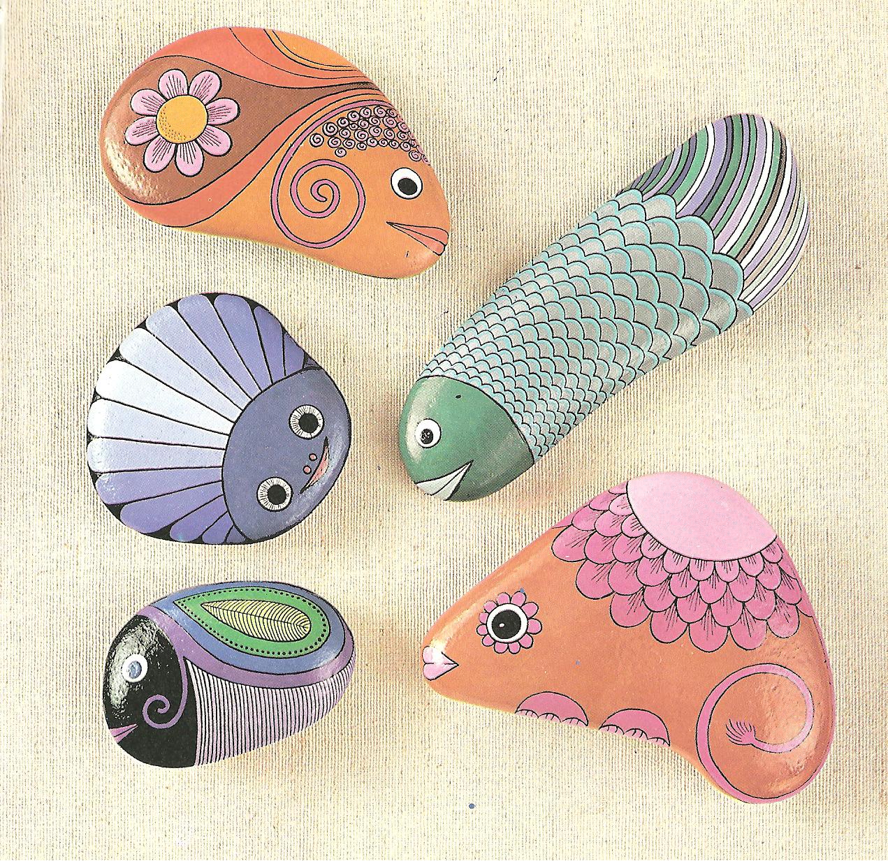 Los ingredientes de la vida pintar piedras - Pintura para piedras ...