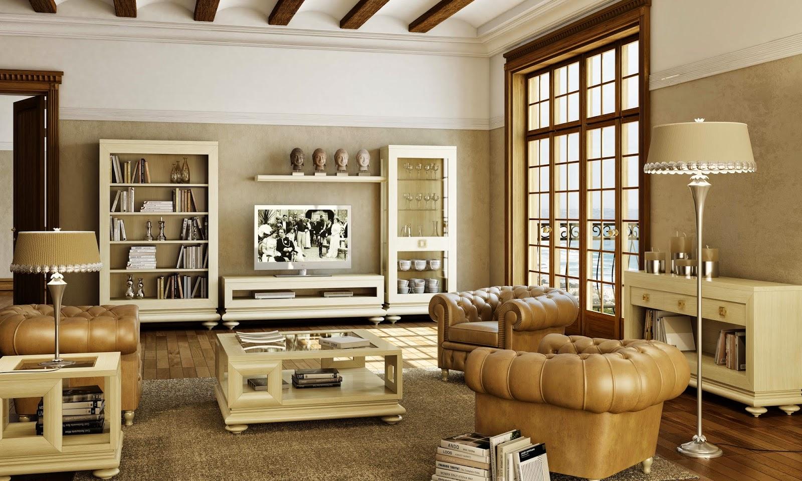 Muebles lancha for Muebles rusticos para salon