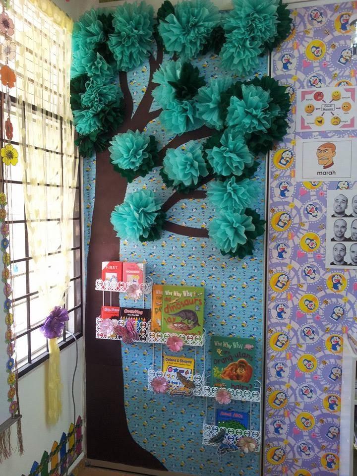 CIKGU EELA (IL) PRESCHOOLERS @ PCE: Dekorasi pokok dalam kelas