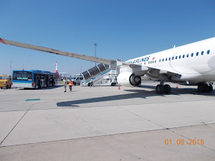 "Tuesday(1-9-2015) :- ""Turkish Airlines TK1885"" touchdown at Vienna airport."