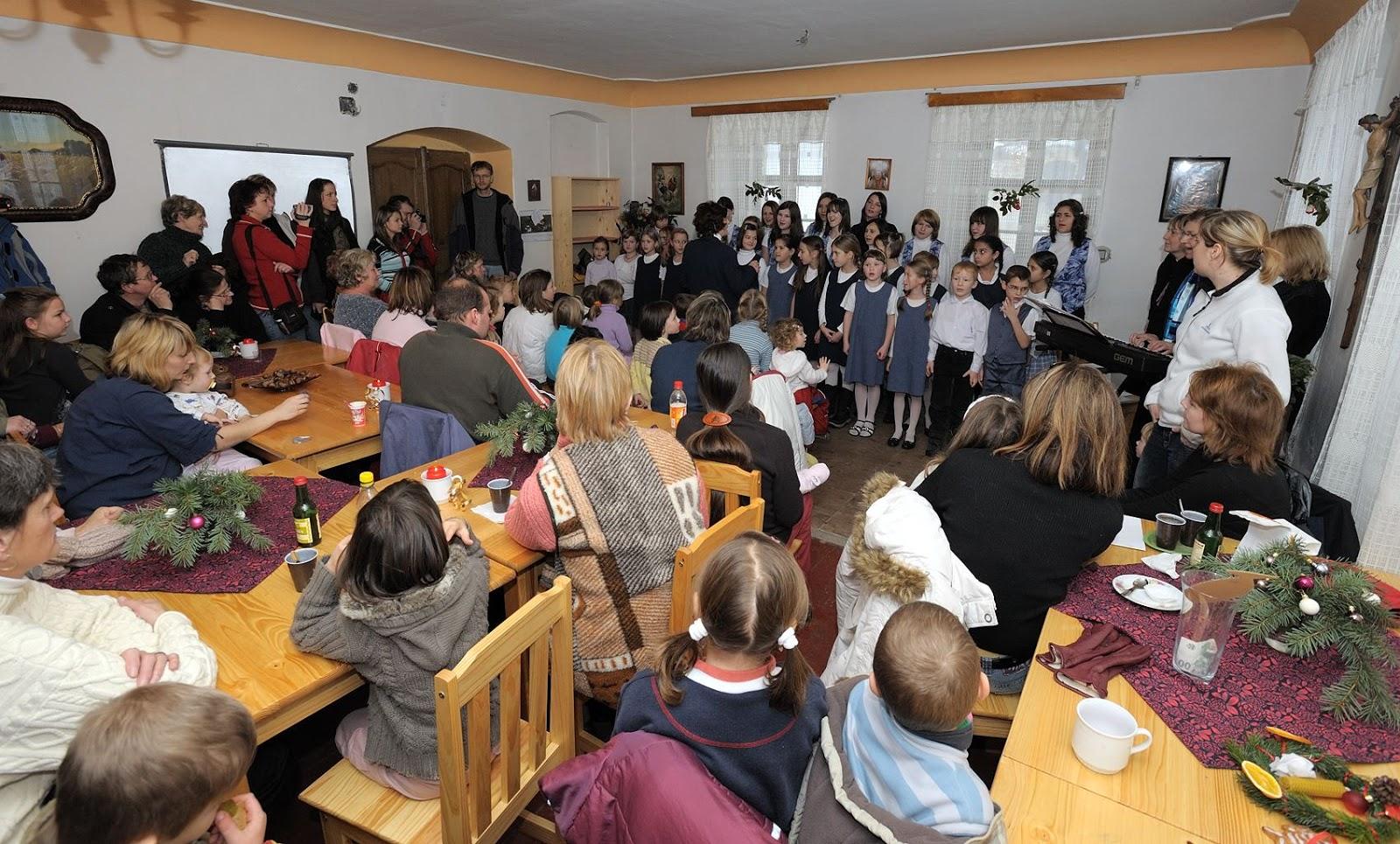 Advent na Krásné 30. 11. 2008 - tvořivé dílničky