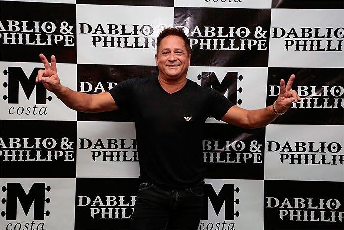 Dvd do Dablio e Phillipe com Leonardo em show em Goiânia 7 6 2016