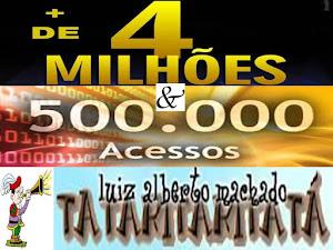 + DE 4 MILHÕES & 500 MIL ACESSOS