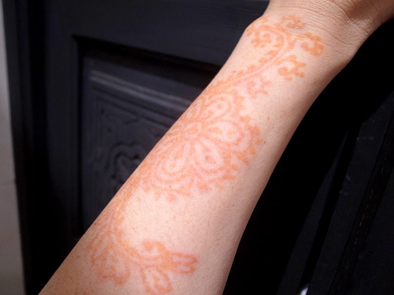 henna in Marrakesh