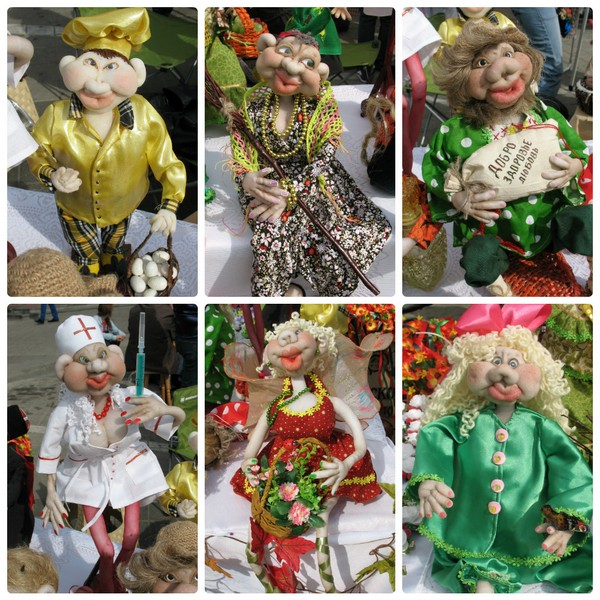 Колготочные куклы
