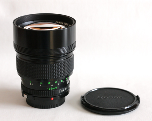 Tele photo lens - big and long