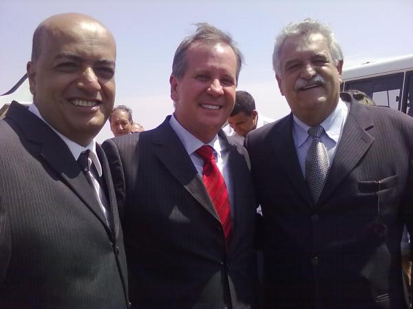 Marquinho Abrão, Luiz Attié e Antonino Andrade