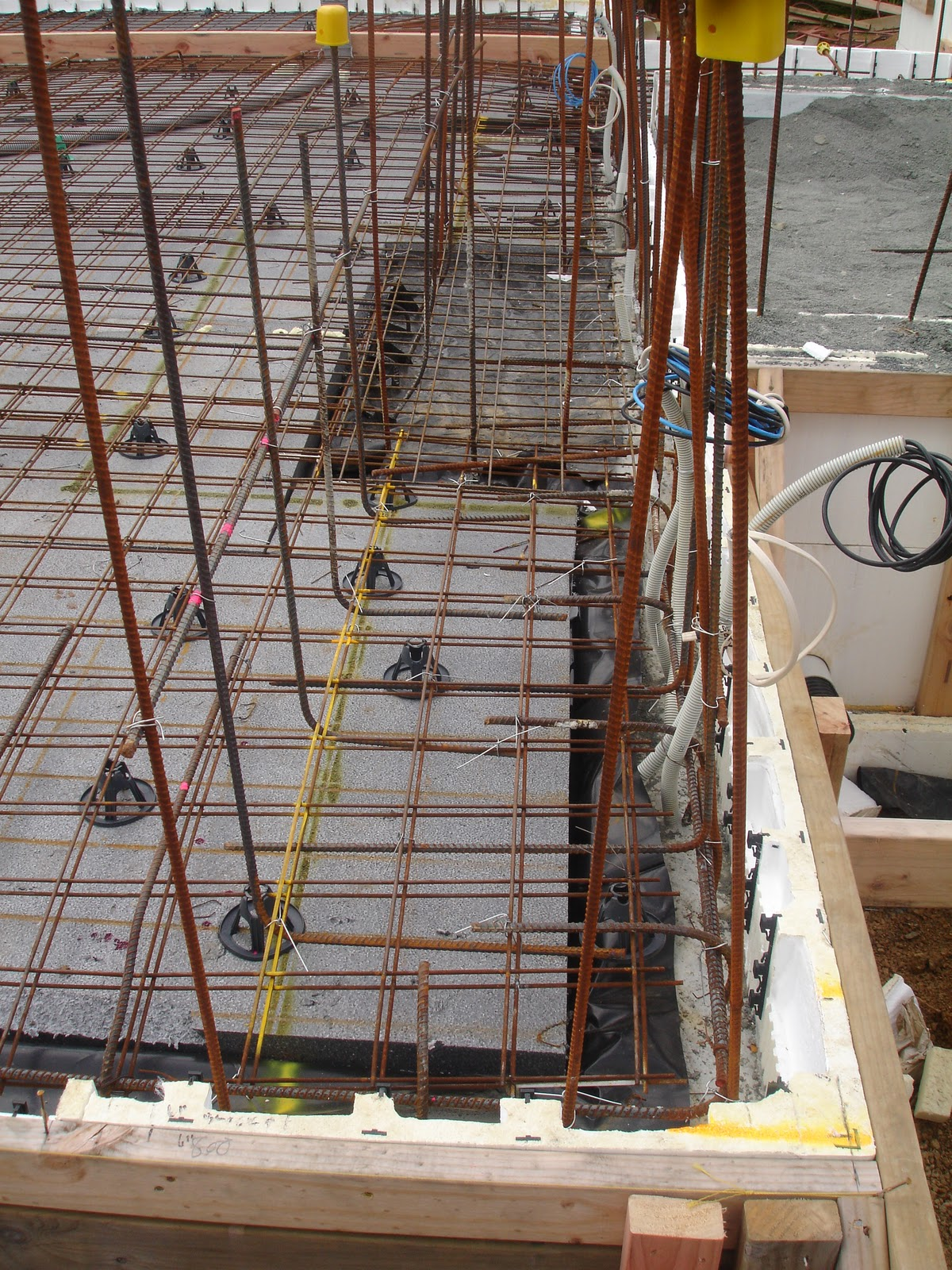Concrete floor slab second pour the new zealand 39 s for 100mm polystyrene floor insulation