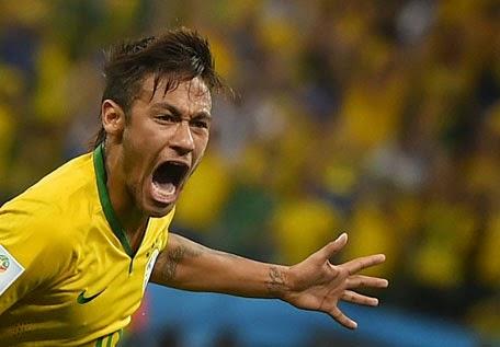 gol neymar brazil