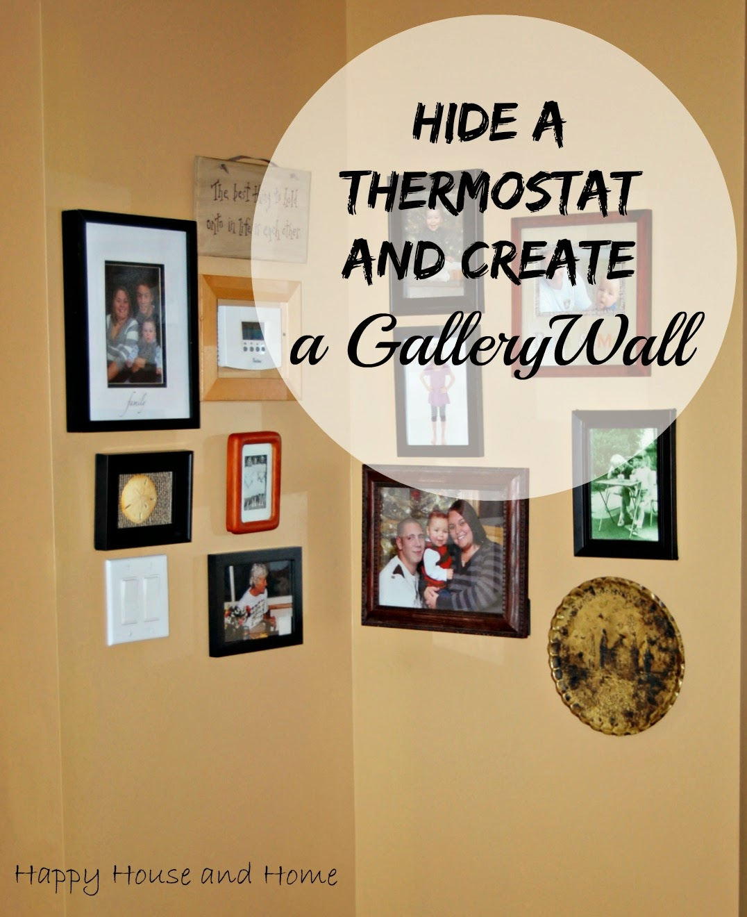Hide a Thermostat, Gallery Wall