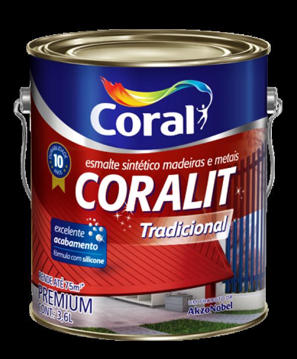 esmalte da linha Coralit - Tintas Coral