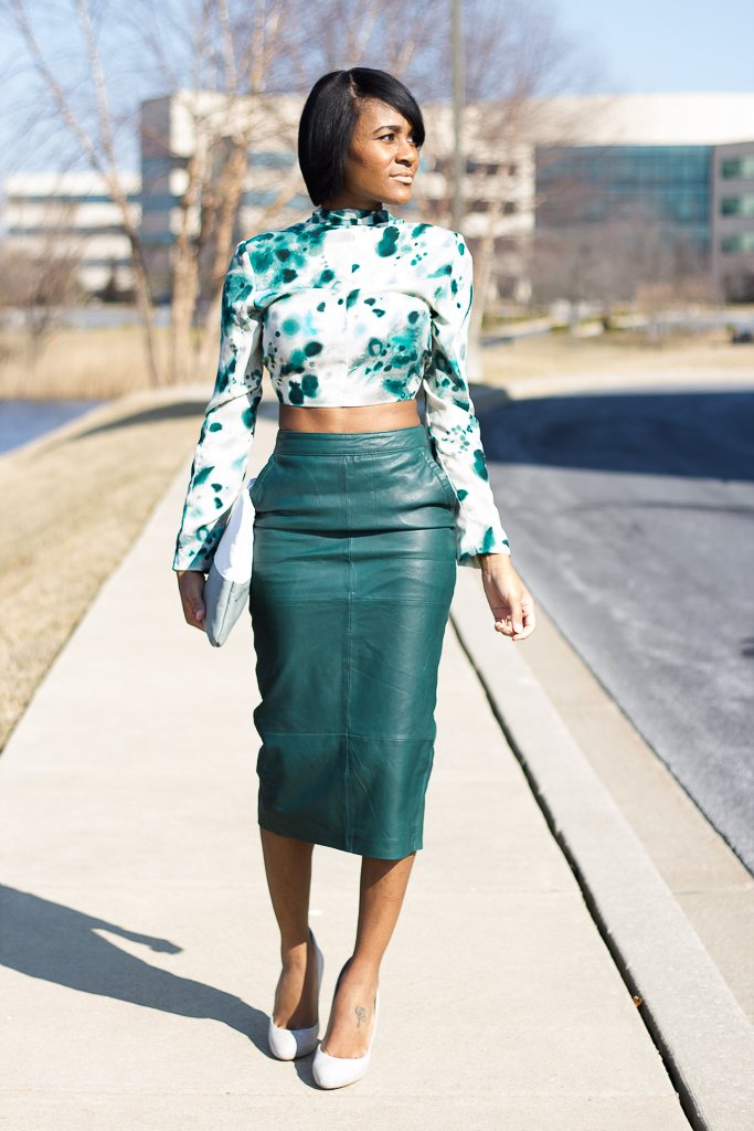 The Daileigh: The Leather Skirt