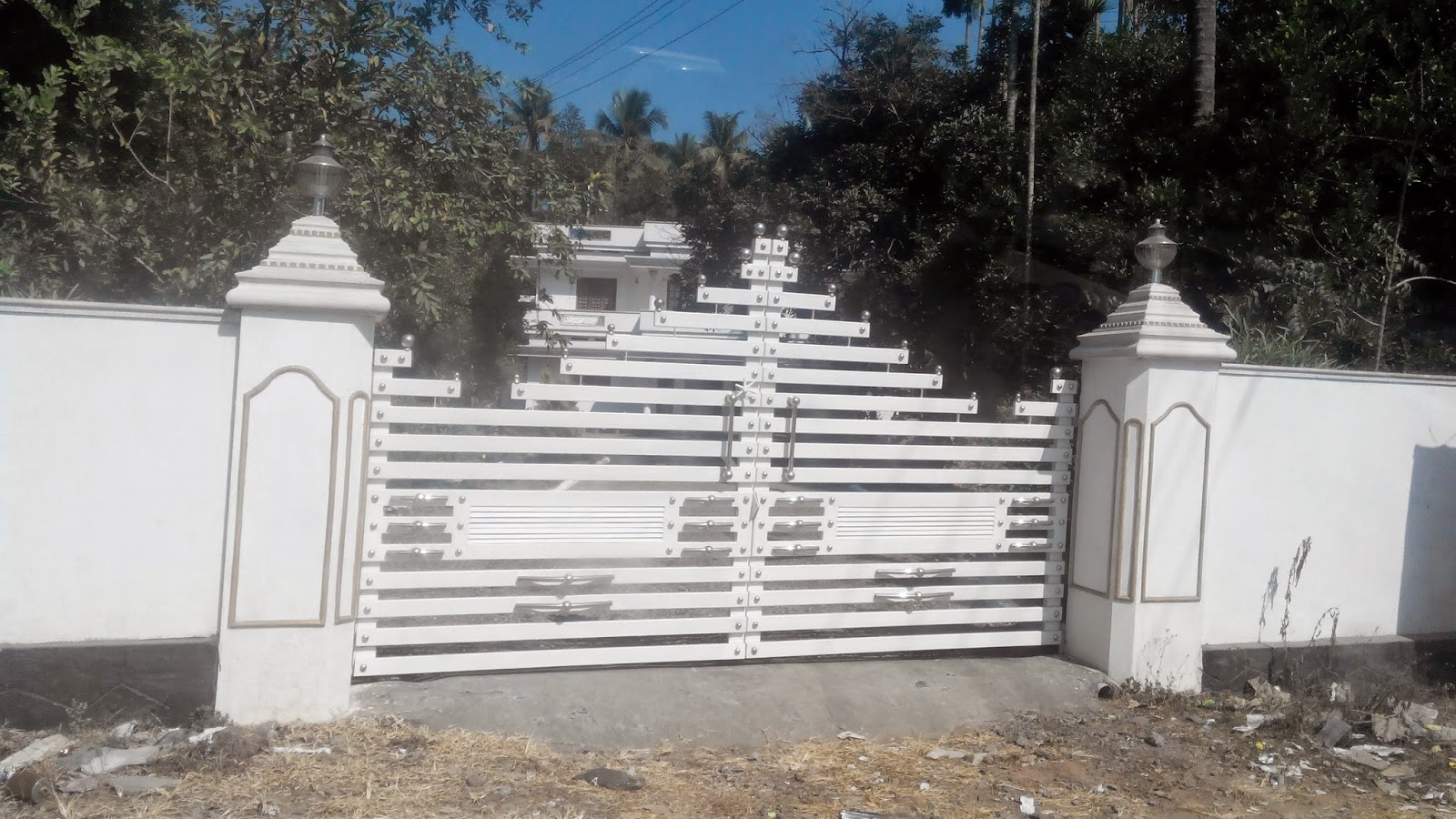 Kerala Gate Designs: Front Gates of Kerala Houses