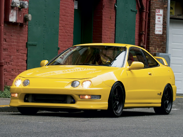 Acura Integra Type R Front Drivers Side View