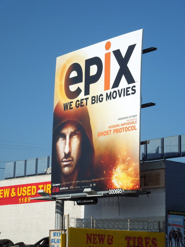 Epix Ghost Protocol movie billboard