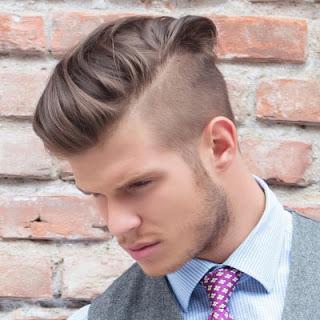 gaya rambut undercut bagian atas