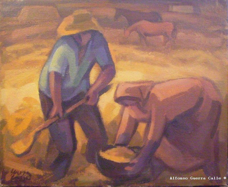 Alfonso guerra calle soneto a alfonso guerra calle pintor - Trabajo de pintor en barcelona ...