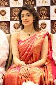 Pranitha glamorous photos at VRK Silks-thumbnail-14