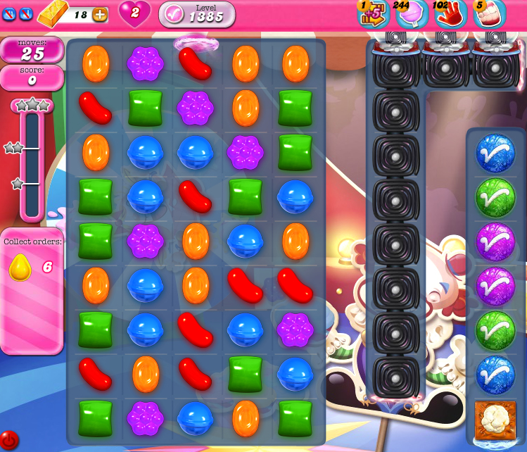 Candy Crush Saga 1385